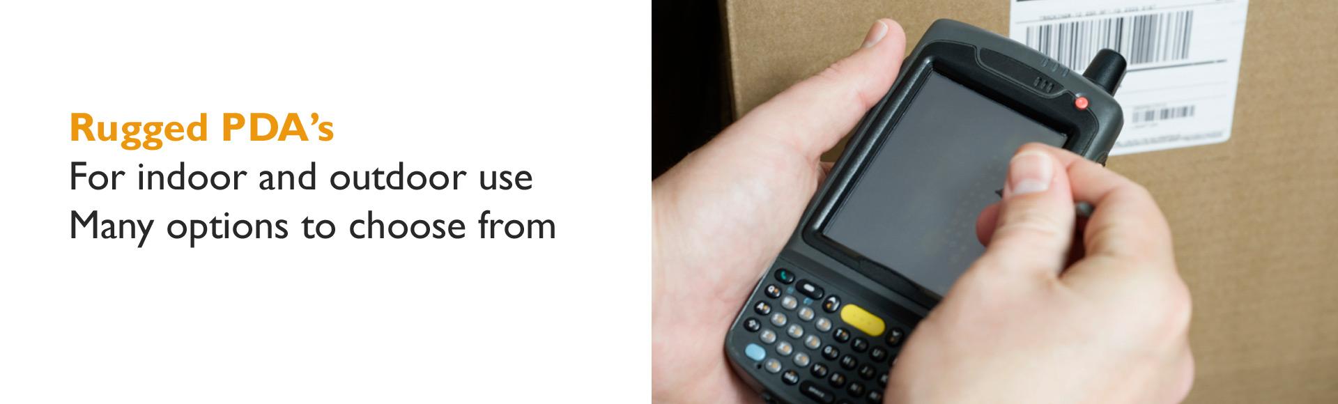 Rugged PDA's